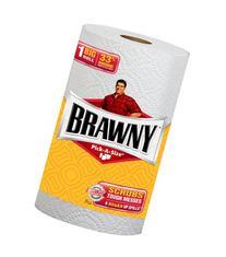 Brawny Big Roll, White, Pick A Size