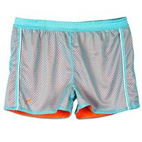 Puma Big-Girls Active Play Breathable Shorts Blue Orange