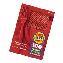 BIG PACK APPLE RED FORKS 100 COUNT