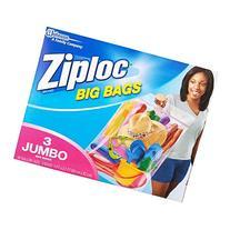 Ziploc Big Bag Double Zipper, XX-Large, 18-Count