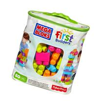 Mega Bloks Big Building Bag 60-Piece
