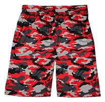 "Badger Big Boys' Camo Sublimated 7"" Elastic Waist Short,"