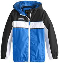 iXtreme Big Boys' Colorblock Athletic Jacket, Royal, 14/16