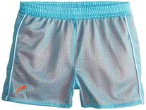 PUMA Big Girls' Active Double Mesh Short, Faster Blue, 8-10