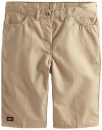 Dickies Big Boys' Uniform Slim Fit 5-Pocket Twill Short,