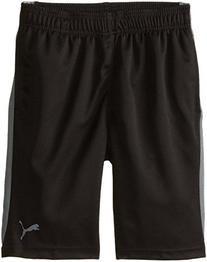 PUMA Big Boys' Active Short, PUMA Black, 10-12