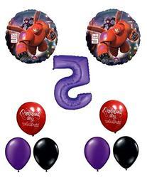 Big Hero Happy 6th Birthday Balloon Decoration Kit