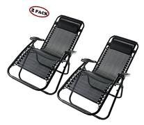 Merax Lounge Chair Zero Gravity Deck Chair Folding Reclining