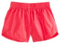 Soffe Big Girls' Lowrise Slick Short, Hote Red, Large