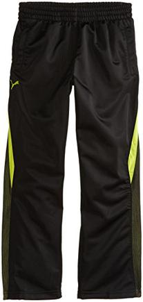PUMA Big Boys' Mesh Pant, Black, X-Large
