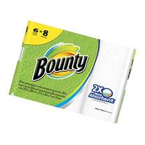Bounty Big Roll Paper Towels, 6 Count