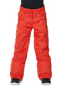 Quiksilver Big Boys' Porter Youth Snow Pant, Fiery Red, X-