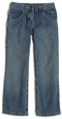 Lee Big Boys' Husky Relaxed Fit Straight Leg Jeans,Worn