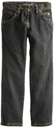 Wrangler Big Boys' Relaxed Fit Straight Leg Jeans, Rolling