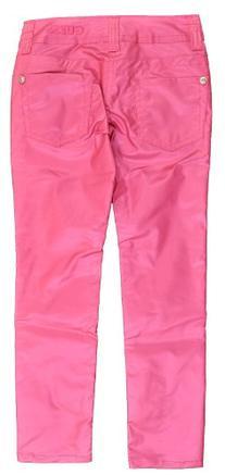 GUESS Big Girls Light Pink Rose Shiny Shimmer Pant