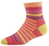 Darn Tough Big Stripe Shorty Light Sock - Women's Apricot, S