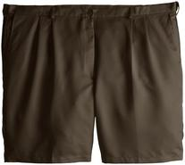 Haggar Men's Big-Tall Cool 18 Expandable Waist Pleat Front