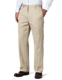 IZOD Men's Big and Tall Flat Front Extended Twill Pant,