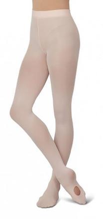 Capezio Big Girls' Ultra Soft Self Knit Waistband Tight,