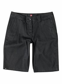Quiksilver Big Boys' Union Chino Short, Black, 23