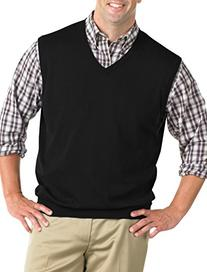 Harbor Bay Big & Tall V-Neck Sweater Vest