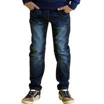 Leo&Lily Big Boys' Kids' Husky Waist Stretch Denim Jeans