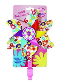 Bike Handlebar Pinwheel - Spinning Flower Pinwheel for Kid's