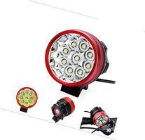 Gugou® Bike Light Headlamp 9T6 15000LM 3 Mode with 8.4v