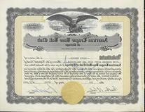 Bill Veeck Signed Chicago White Sox Stock Certificate from