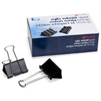 Officemate Large Binder Clips, 2 inch Wide, 1 inch Capacity