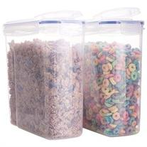Biokips Cereal Container Airtight Watertight Cereal Keeper