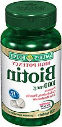 Biotin 1000mcg Country Life 100 Tabs