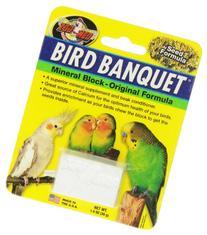 Zoo Med Laboratories Bird Banquet Original Mineral Block