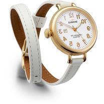 Shinola 34mm Birdy Golden Double-Wrap Watch