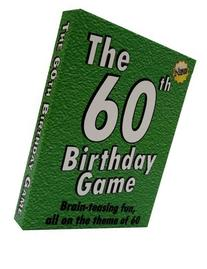 The 60th Birthday Game. Fun new 60th birthday party game