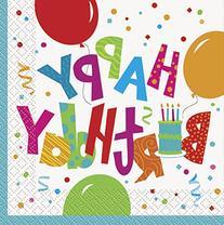 Jamboree Birthday Party Napkins, 16ct