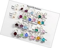 Birthstone Add On | Round or Bicone | Add on to Your Custom
