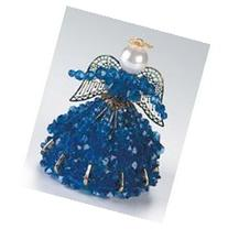 Birthstone Angel Ornament Bead Kit - September Sapphire