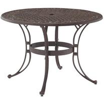 """Home Styles Biscayne 48"""" Round Outdoor Dining Table,"""