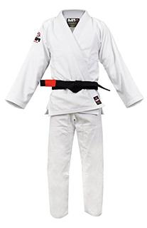 Fuji BJJ Uniform, White, A4