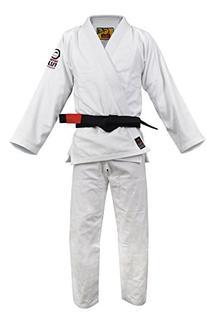 Fuji BJJ Uniform, White, A2