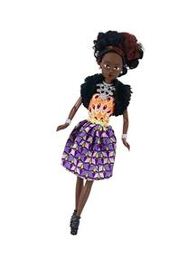 Queens of Africa Black Doll - AZEEZAH  Black Doll Authentic