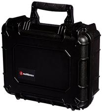 "14"" Medium Black Protective Hard Travel Carrying Case #075"