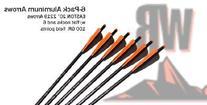 Wicked Ridge 20-Inch Black Aluminum 6 Pack Crossbow Arrows