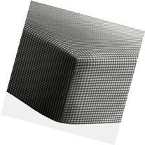 Black Gingham Bassinet Sheet - Size: 15x30
