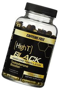 High T Black Caffeine Free, Testosterone Booster Pre Workout