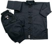 Black Complete Kung Fu Uniform Size 3