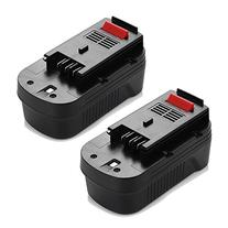 Powerextra 2 Pack High Capacity 3000mAh Black & Decker 18V