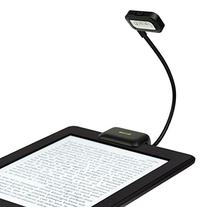 iKross Black Dual LED Clip-On Reading Light for Nook, eBook