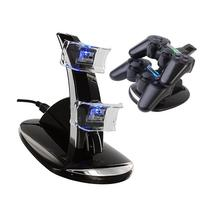 Onedayshop® LED Black Dual Controller Charging Stand